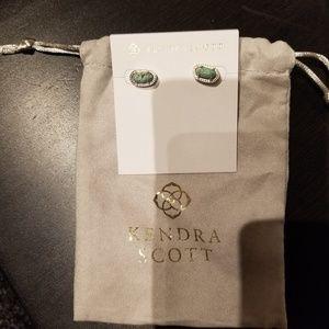 KS African Turquoise studd earrings